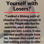 The headline of this post 'Are You Surrounding Yourself with Losers?' over a background image of post author Kenneth Holland.